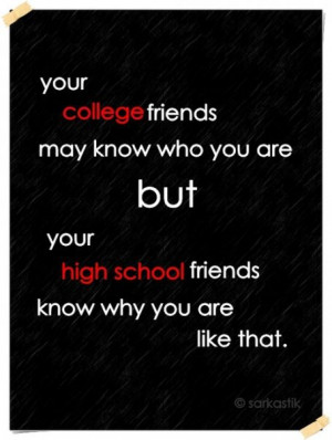 high school friendship quotes