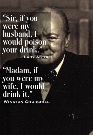 Humorous, quotes, sayings, relationships, winston churchill