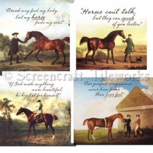 Equestrian Quotes Mixed Set