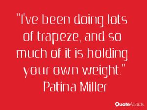Patina Miller