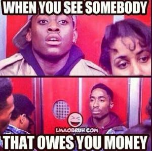 Owe money??