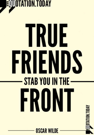 Quotations | Oscar Wilde – Quotes on friendship