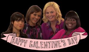 ... leslie knope rashida jones nbc Valentine's Day ann perkins donna