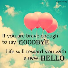 quote say goodbye More