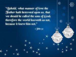 John 3:1 – Sons of God Papel de Parede Imagem