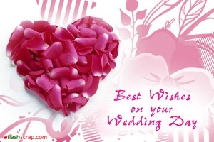 Wedding Orkut Scraps and Wedding Facebook Wall Greetings