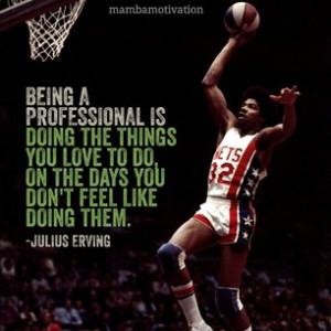 NBA Legend Julius Erving