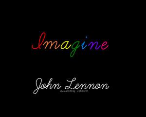 imagine, john lennon, quote
