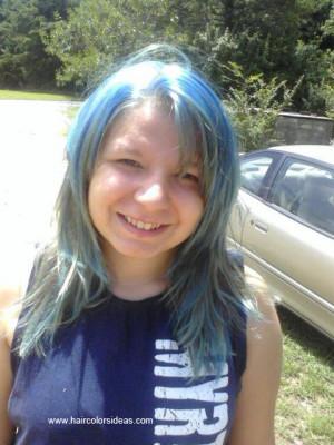 Blue Dreadlocks Hair Colors...