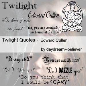 twilight love quotes edward