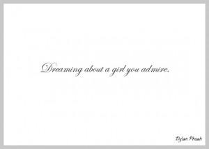 My Dream Girl Quotes Girl. happened last night.