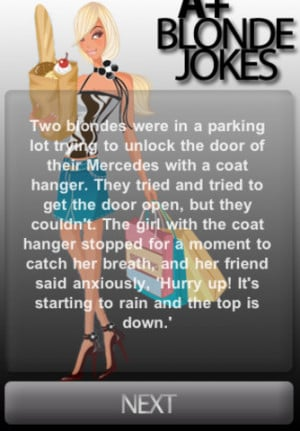 Download A+ Blonde Jokes iPhone iPad iOS