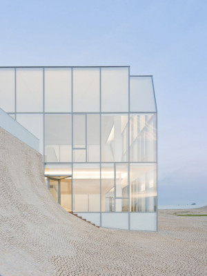 Steven HollTransparent Facade, De L Ocean, Steven Holl, Beach House ...