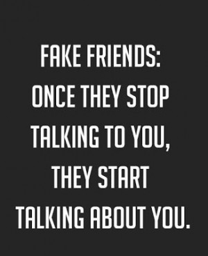 Fake Friends Quotes and Sayings