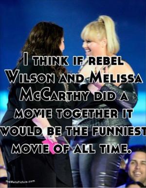melissa macarthy and rebel wilson funny