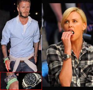 dipakai oleh David Beckham , Charlize Theron , dan Lewis Gordon Pugh