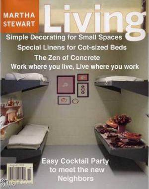 Martha Stewart ~Prison Living