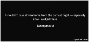 Bar Quotes More anonymous quotes