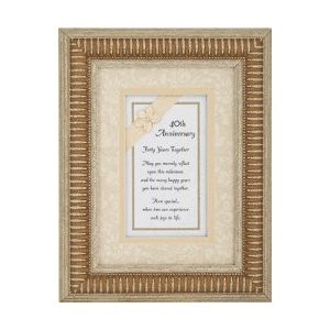 40th Wedding Anniversary Gift - 40 Years Together Poem, 300x300 in 16 ...