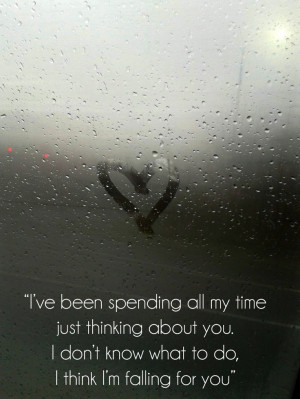 fall for you quotes i thinking i love you quotes fallin for you quotes ...