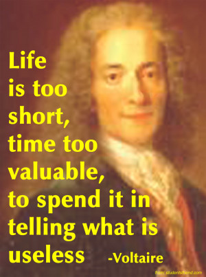 Gotthold Lessing Voltaire