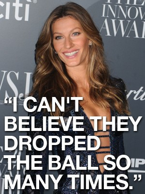 Gisele Bundchen Football Quote