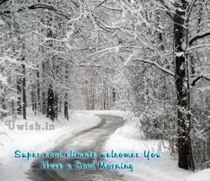 Morning Good Greeting Cards