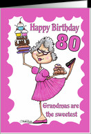Age Specific Birthday Cards For Grandma
