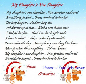 my daughter s new daughter how precious and sweet beautifully perfect ...