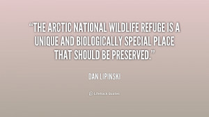 The Arctic National Wildlife Refuge is a unique and biologically ...