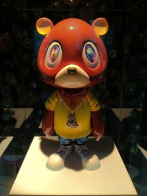 Takashi Murakami x Kanye West sculpture EGO exhibition (bkrw.com)