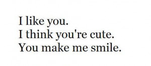 like you #you're cute #cute #text #i love you #love #you are cute #you ...
