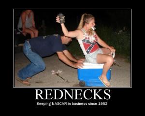 Rednecks at play!