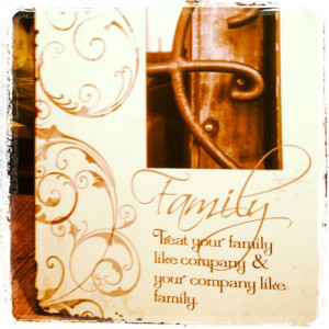 Family = Company & vice versa