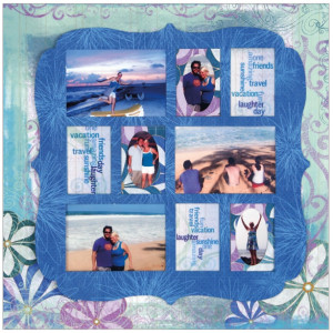 Quick Quotes - Summer Breeze Collection - 12 x 12 Double Sided Paper ...