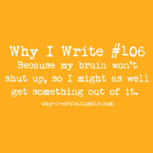 dabbling in creative writing...