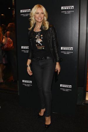 Valeria Mazza al Pirelli store
