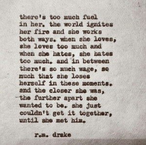 drake..minus that last line.