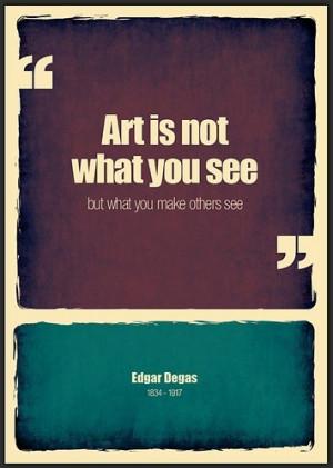 art, art advocacy, color, degas, expressions, form, graphic art, idea ...