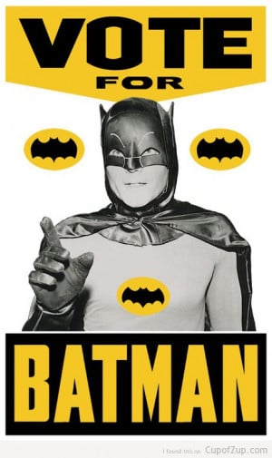 funny election vote batman poster cupofzup.com