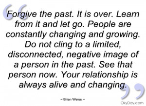 forgive the past brian weiss