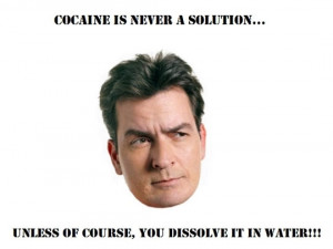 funny Charlie Sheen joke quote