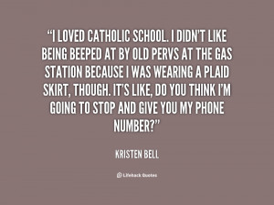 Catholic School Quotes
