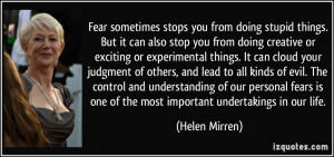 More Helen Mirren Quotes