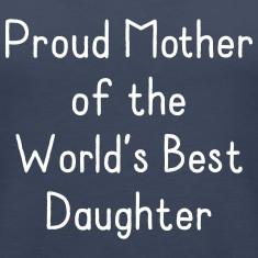 Proud Mother Favorite Daughter Tanks