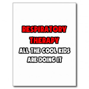 Funny Respiratory Therapist Shirts and Gifts Postcard