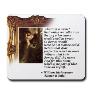 Showing Gallery For Romeo And Juliet Famous Quotes