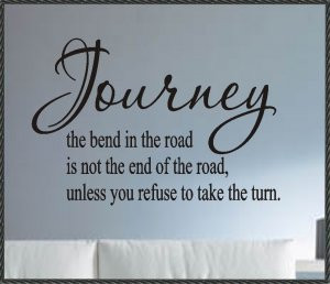 Vinyl Wall Words Quotes Sayings Decals Journey definition