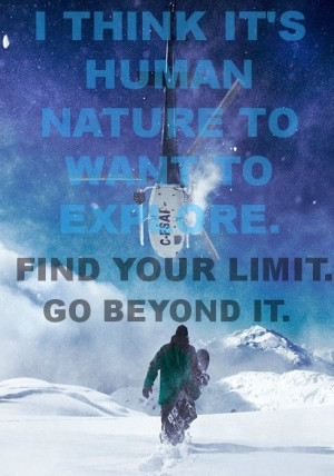 Find your limit and then go beyond it