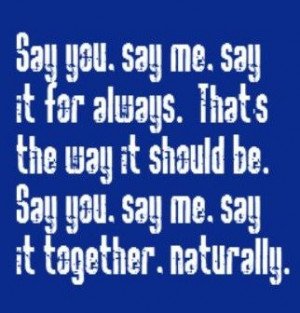 Lionel Richie - Say You Say Me - song lyrics, music lyrics, song ...